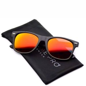 Other - NEW Unisex Red Mirror Sunglasses